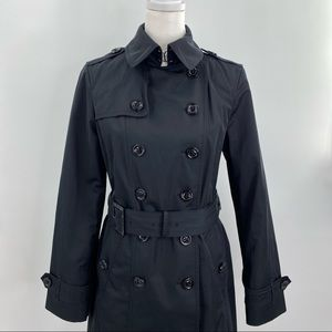 London Fog black belted double breast trench coat